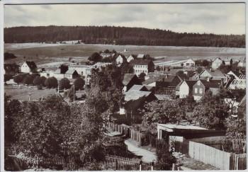 AK Foto Herschdorf Ortsansicht bei Großbreitenbach Thüringen 1979