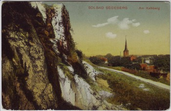 AK Bad Segeberg Am Kalkberg 1910