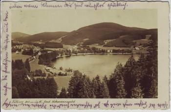 AK Foto Titisee bei Titisee-Neustadt Schwarzwald 1933