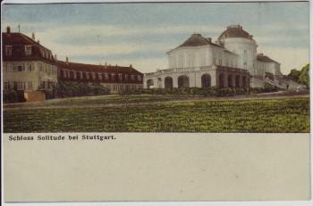 AK Schloss Solitude bei Stuttgart 1910