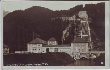AK Foto Walchenseekraftwerk Totale bei Kochel am See 1930