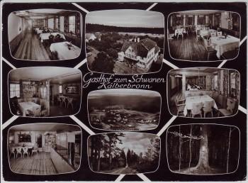 AK Mehrbild Pfalzgrafenweiler Kälberbronn Gasthof zum Schwanen 1961