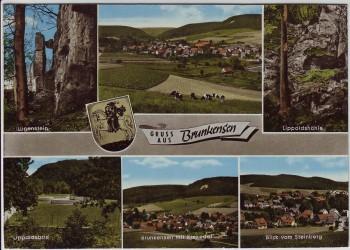AK Mehrbild Gruss aus Brunkensen bei Alfeld (Leine) 1972