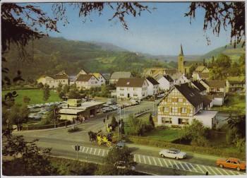 AK Foto Einruhr bei Simmerath Ortsansicht Eifel 1970
