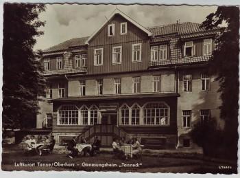 AK Foto Tanne (Harz) Genesungsheim Tanneck bei Oberharz am Brocken 1959
