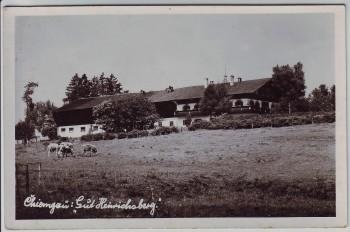 AK Foto Pittenhart Gut Heinrichsberg Chiemgau 1940