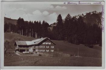 AK Foto Pension Bendehof bei Bihlerdorf Seifriedsberg Blaichach Sonthofen 1930
