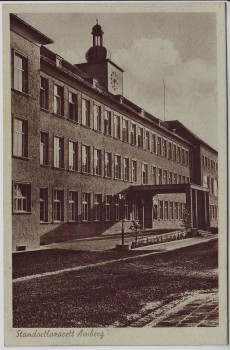 AK Amberg Standort-Lazarett 1930