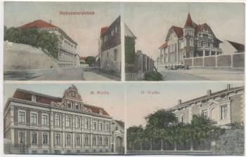 AK Hohenwarsleben 4 Bilder Wolfin b. Irxleben 1912 RAR