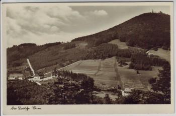 AK Foto Die Lausche im Zittauer Gebirge bei Waltersdorf (Großschönau) 1940