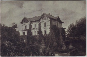 AK Leipzig Eutritzsch Blick auf Otto Mann Haus Großgärtnerei 1920 RAR