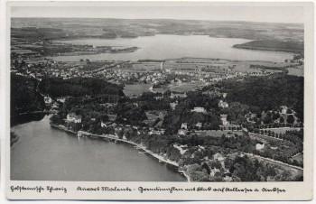 AK Kurort Malente Ortsansicht Luftbild Fliegeraufnahme 1935
