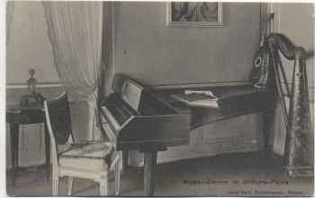 AK Weimar Musik-Zimmer im Wittums-Palais 1920