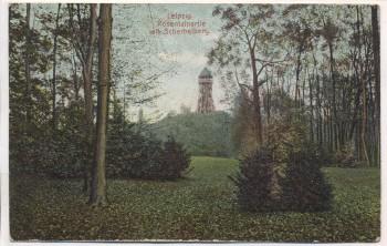 AK Leipzig Rosentalpartie mit Scherbelberg 1910