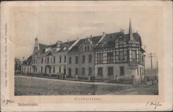 AK Sobernheim Kirchstrasse 1908
