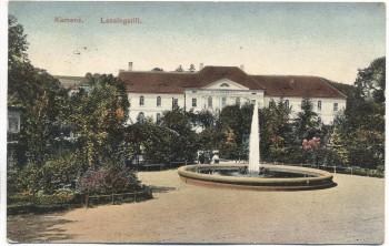 VERKAUFT !!!   AK Kamenz Lessingstift 1912