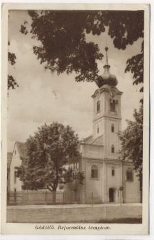 AK Gödöllő Református templom Getterle Reformierte Kirche Ungarn 1931