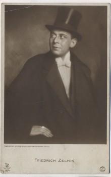 AK Foto Friedrich Zelnik Schauspieler 1915