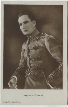 AK Foto Alphons Fryland Schauspieler Verlag Ross Berlin 1923