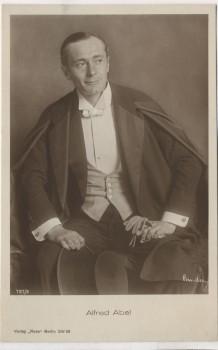 AK Foto Alfred Abel Schauspieler Verlag Ross Berlin 1922