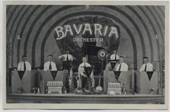 AK Foto Hohenstein-Ernstthal Bavaria-Orchester Kapelle 1940 RAR