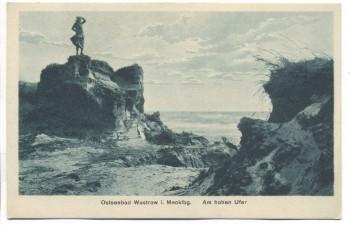 AK Ostseebad Wustrow Am hohen Ufer Fischland 1910