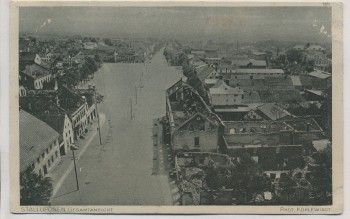AK Stallupönen Gesamtansicht Nesterow Ostpreußen Russland Feldpost 1916