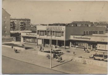VERKAUFT !!!   AK Foto Merseburg West Gaststätte und Cafe Freundschaft 1972