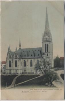 AK Kassel Neue luther. Kirche 1901
