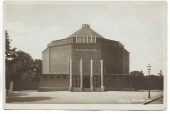 AK Leipzig Planetarium 1927