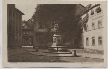 AK Weimar Donndorfbrunnen mit Häusern 1920