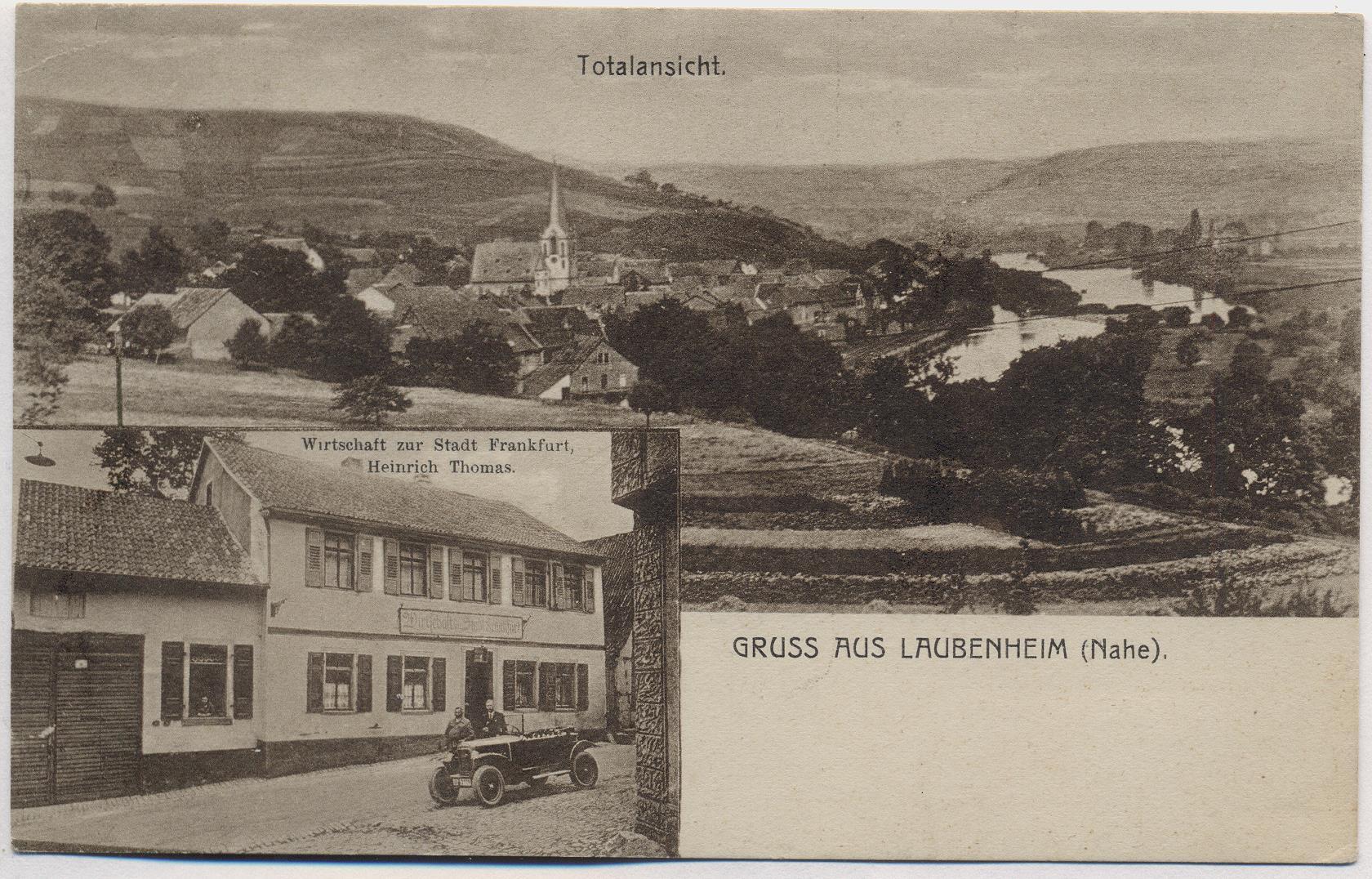 Laubenheim Nahe Wirtschaft Bad Kreuznach Ansichtskarten Markt Kaufen