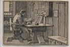 Künstler-AK Luther auf der Wartburg Zeichnung Otto Ubbelohde Feldpost 1918