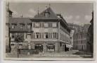 AK Foto Ansbach Unterer Markt mit Markgraf Karl Wilhelm Friedrich-Brunnen 1935