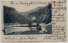 AK Gruss vom Schiessrodried Münstertal b. Metzeral Haut-Rhin Elsass Frankreich 1904