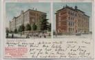AK Leipzig Lindenau 23. Bezirksschule Uhlandstrasse Kathol. Schule Friedrich August Strasse 1902 RAR