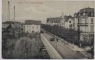 AK Lahr im Breisgau Lotzbeckstrasse mit Fabrik Schwarzwald 1910 RAR