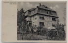 AK Bad Altheide Polanica-Zdrój Pension Haus Ernst Schlesien Polen 1942