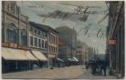 AK Hamburg Harburg an der Elbe Wilstorferstraße Geschäfte mit Menschen 1912