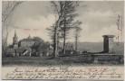 AK Frauenstein im Erzgebirge Blick vom Sandberg 1902