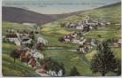 AK Oberwiesenthal am Fuße des Fichtelberges mit Böhmisch Wiesenthal 1925