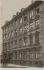 AK Foto Leipzig Plagwitz Hausansicht mit Geschäft und Menschen 1909