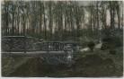 AK Essen Partie im Krupp'schen Wald mit Holzbrücke 1908
