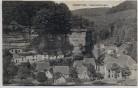 AK Graufthal bei Eschbourg Eschburg Felsenwohnungen Bas-Rhin Elsass Frankreich 1912