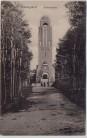 AK Ostseebad Heringsdorf Bismarckwarte mit Menschen 1910