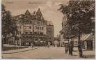 AK Eisenach Bahnhofstraße mit Carlstor Kaiserhof Menschen 1910 RAR