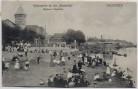AK Bremen Vegesack Weserpartie an der Strandlust viele Menschen 1911