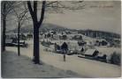 AK Bärenfels Ortsansicht im Winter bei Altenberg 1920