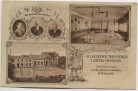 AK Leipzig Möckern 50 Jahre Jubelfeier Allgemeiner Turnverein Gründer Turnhalle 1911 RAR