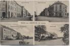 VERKAUFT !!!   AK Mehrbild Gruss aus Lindenthal bei Leipzig Bahnhofstraße Waldstraße Hauptstraße 1918 RAR
